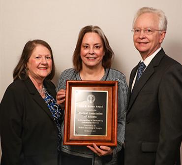 Dr. Deborah Martin, Dr. Rutledge Forney, David Waldrep