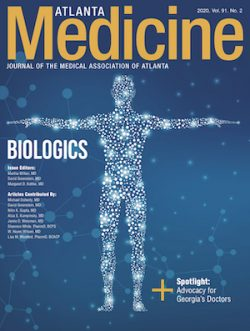 Atlanta Medicine Biologics Issue Cover